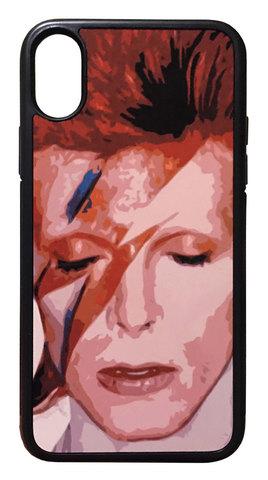 David Bowie】デヴィット・ボウイ「アラジン・セイン」iPhoneX/iPhoneXS ハードケース