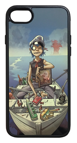 【Gorillaz】ゴリラズ「Plastic Beach」iPhone7/iPhone8 ハードカバー ケース