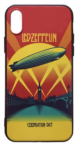 【Led Zeppelin】レッド・ツェッペリン「Celebration Day」iPhoneX/XS TPUケース