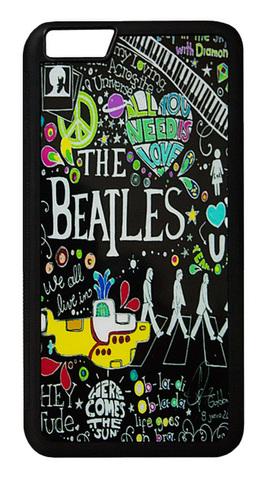 【The Beatles】ザ・ビートルズ タイトルイラスト iPhone6Plus/ iPhone6s Plus ハードカバー
