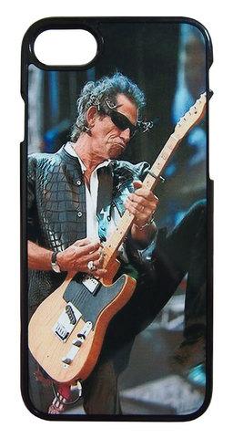 【The Rolling Stones/Keith Richards】ザ・ローリング・ストーンズ キース・リチャーズ ライブ iPhone7/ iPhone8 ハードカバー ケース