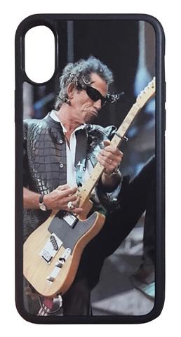 【The Rolling Stones/Keith Richards】ザ・ローリング・ストーンズ キース・リチャーズ 「ライブ」iPhoneX/ iPhoneXS ケース