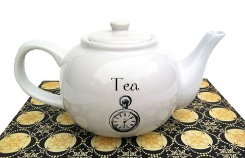 【Threshold Teapot】スレショルド 「ティータイム」ティーポット