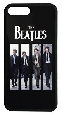 【The Beatles】ザ・ビートルズ 「ON AIR LIVE AT BBC」iPhone7Plus/iPhone8Plus ハードカバー ケース