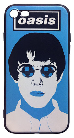 【Oasis/Liam Gallagher】オアシス「Maine Road Manchester 1996」iPhone7/iPhone8/iPhoneSE シリコン TPUケース⭐️全国送料無料