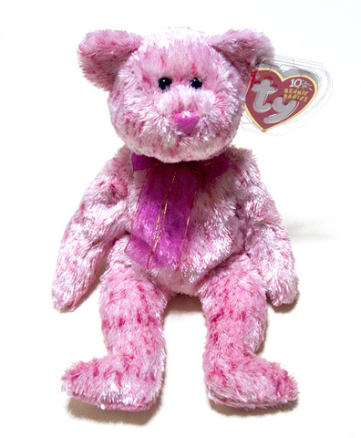 "【Ty Beanie Babies】Ty ビーニーベイビーズ ""SMITTEN the Pink Nose"""