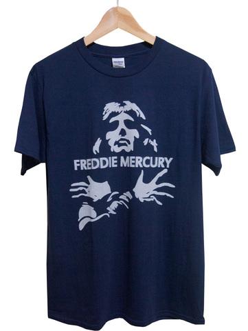 【Queen/Freddie Mercury】クィーン フレディー・マーキュリー Tシャツ