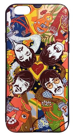 【The Beatles】ザ・ビートルズ「サージェント・ペパーズ・ロンリー・ハーツ・クラブ・バンド」iPhone6s シリコン TPUケース