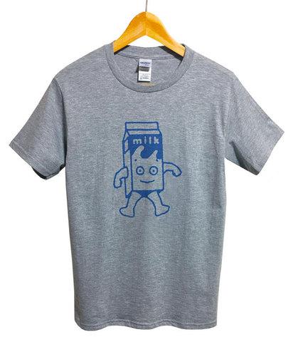 【Blur/Milk Boy】ブラー 「コーヒー&TV ミルクボーイ Tシャツ(S/M/L・グレー)