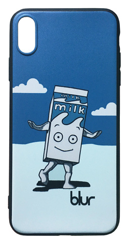【Blur】ブラー「Coffee & TV Milk Boy」iPhoneXS Max シリコン TPU ケース