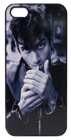 【Arctic Monkeys/Alexander Turner】アークティック・モンキーズ  アレックス・ターナー  モノクロ iPhone5/5s/SE ハードカバー(2)