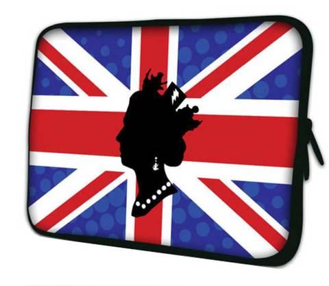 【Royal Queen Elizabeth II Union Jack】ユニオンジャック クィーンエリザベスII ノートPCカバー