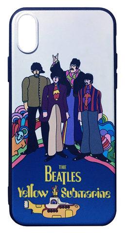 【The Beatles】ザ・ビートルズ「イエロー・サブマリン」iPhoneX/XS シリコン TPUケース