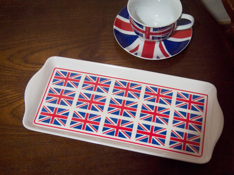 【Union Jack Try】ユニオンジャック サンドウィッチ&スナックトレー M