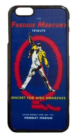 【Queen/Freddie Mercury】クィーン フレディー・マーキュリー ザ・トリビュート・コンサート iPhone6/ iPhone6s ハードカバー