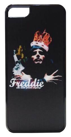 【Queen/Freddie Mercury】クィーン  フレディー・マーキュリー 王冠 iPhone5/5s/SE ハードカバー