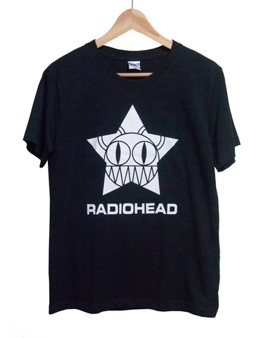【Radiohead】レディオヘッド「Kid A」BearTシャツ(M)
