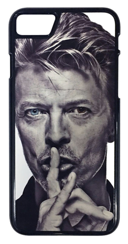 【David Bowie】デヴィット・ボウイ ブルーアイ iPhone7/ iPhone8 ハードカバー