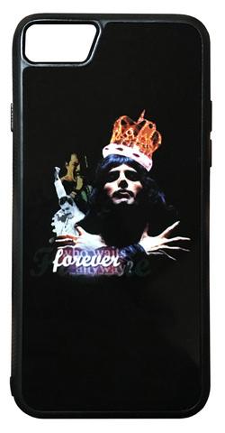 【Queen/Freddie Mercury】クィーン フレディー・マーキュリー「forever」iPhone7/ iPhone8 ハードカバー ケース