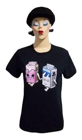 【Blur Milk Boy&Girl】ブラー ミルクボーイ&ガール ウーマンズTシャツ