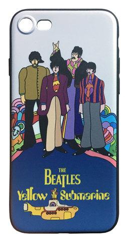 【The Beatles】ザ・ビートルズ「イエロー・サブマリン」iPhone7/iPhone8 シリコン TPUケース