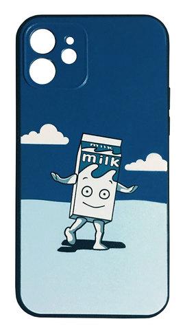 【Blur】ブラー「Coffee & TV Milk Boy」iPhone12mini シリコン TPUケース⭐️全国送料無料