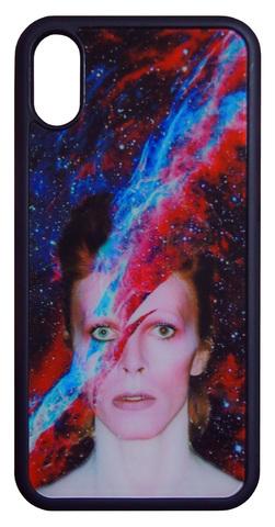 【David Bowie】デヴィット・ボウイ 「Aladdin Sane」iPhone X/iPhone XS ケース
