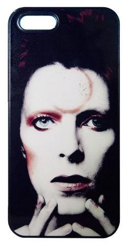 【David Bowie/Ziggy Stardust】デヴィット・ボウイ ジギー・スターダスト iPhone5/5s/SE ハードカバー