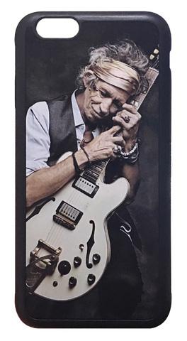【The Rolling Stones / Keith Richards】ザ・ローリング・ストーンザ 「キース・リチャーズ ギター」iPhone6/ iPhone6s ハードカバー