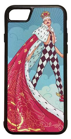 【Freddie Mercury/Queen】フレディ・マーキュリー「イラスト」iPhone7/ iPhone8 ハードカバー ケース