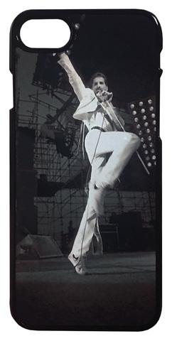 【Queen/Freddie Mercury】クィーン フレディ・マーキュリー ライブ iPhone7/ iPhone8 ハードカバー ケース