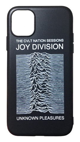 【Joy Division】ジョイ・ディヴィジョン「アンノウン・プレジャーズ」iPhone11 シリコン TPU ケース