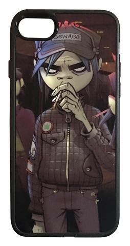 【Gorillaz】ゴリラズ「Sewage」iPhone7/iPhone8 ハードカバー ケース