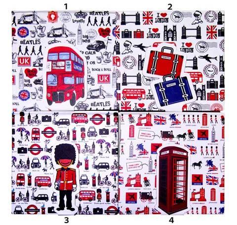 【I LOVE London Series】アイ・ラブ・ロンドン シリーズ ダイアリー ノートブック4種類