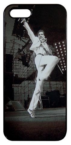 【Freddie Mercury/Queen】クィーン フレディー・マーキュリー 「ライブ」iPhone5/5s /SE ハードケース
