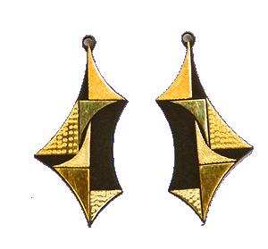 イヤリング(三角幾何学)