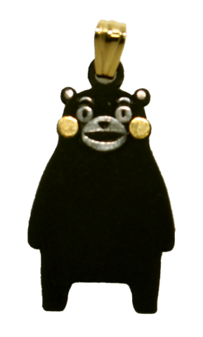 くまモン立位ペンダント(KM-03)