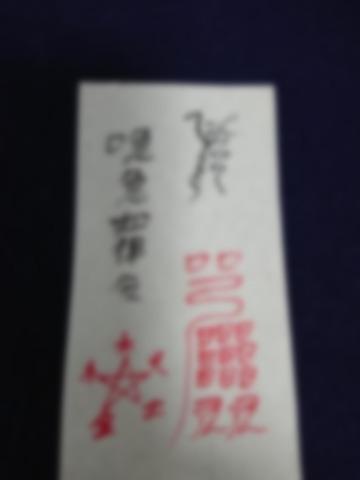 八大龍王神水符~お風呂に入れる邪気祓い護符お試し2枚(2回分)