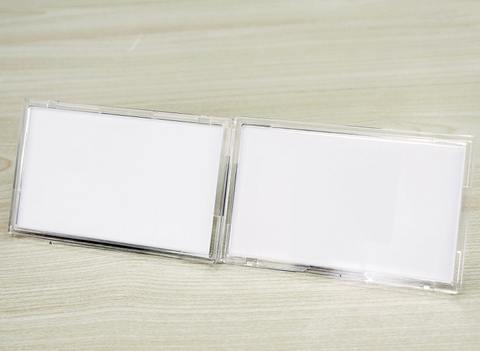 ※送料無料【LabelPlate stand type】(ヨコ置き用/2個入)