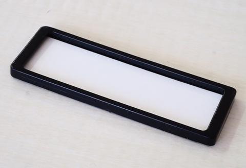 ラベルプレート【S size】マットブラック 両面テープ 5枚入(税込)