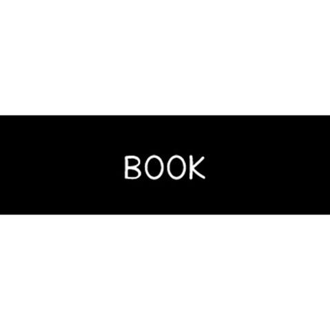 ラベリングカード S【BOOK】黒 (税込)