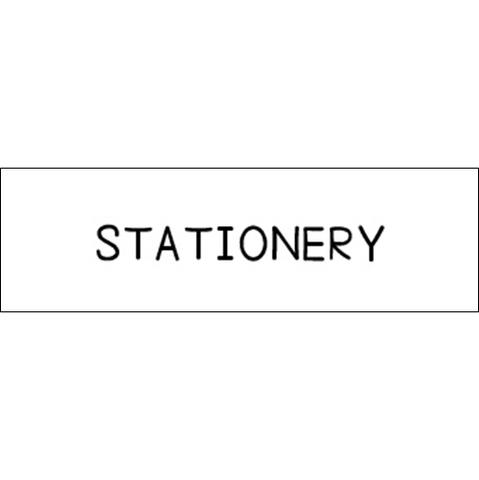 ラベリングカード S【STATIONERY】白 (税込)