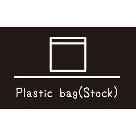 ラベリングカード M 【Plastic bag(Stock)】黒 (税込)