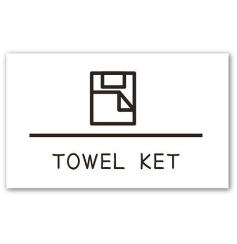 ラベリングカード M【TOWEL KET】 (税込)