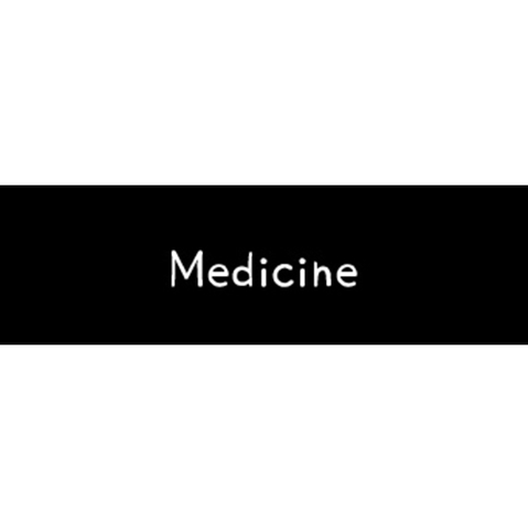 ラベリングカード S【Medicine】黒 (税込)