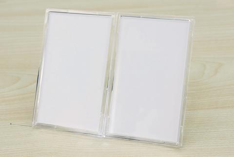 ※送料無料【LabelPlate stand type】(タテ置き用/2個入)
