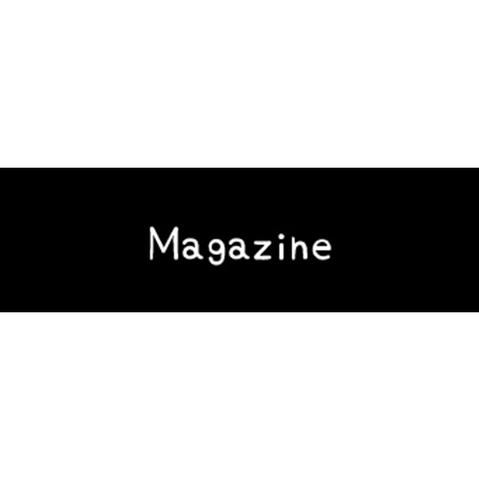ラベリングカード S【Magazine】黒 (税込)