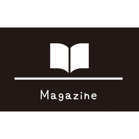ラベリングカード M 【Magazine】黒 (税込)