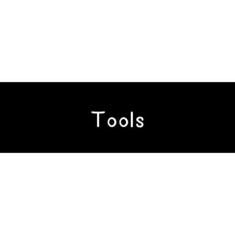 ラベリングカード S【Tools】黒 (税込)