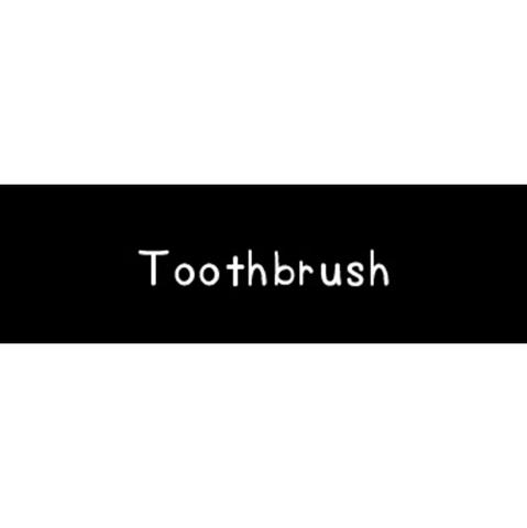 ラベリングカード S【Toothbrush】 (税込)